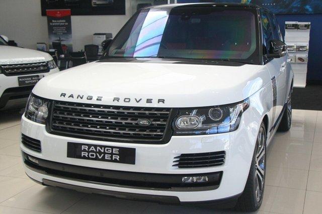 New Land Rover Range Rover V8SC SVAutobiography Dynamic, Malvern, 2017 Land Rover Range Rover V8SC SVAutobiography Dynamic Wagon