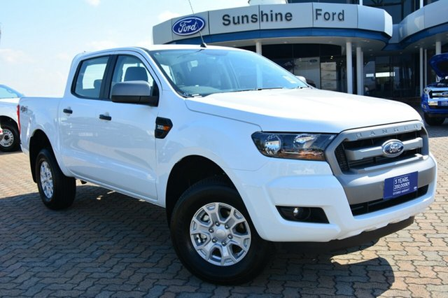 Discounted Demonstrator, Demo, Near New Ford Ranger XLS Double Cab, Southport, 2017 Ford Ranger XLS Double Cab Utility
