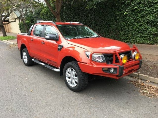 Used Ford Ranger Wildtrak Double Cab, Wayville, 2012 Ford Ranger Wildtrak Double Cab Utility