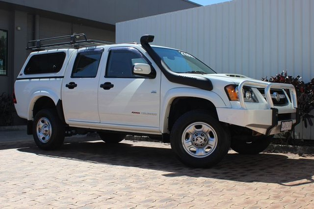 Used Holden Colorado LX Crew Cab, Cairns, 2009 Holden Colorado LX Crew Cab Utility