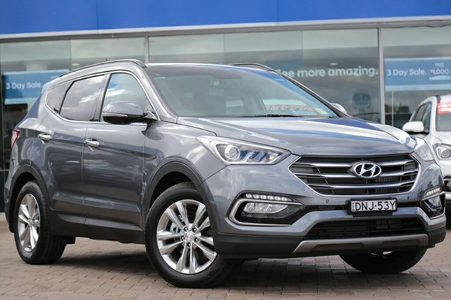Demonstrator, Demo, Near New Hyundai Santa Fe Elite, Southport, 2016 Hyundai Santa Fe Elite SUV