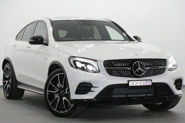 Used Mercedes-Benz GLC43 AMG Coupe 9G-Tronic 4MATIC, Narellan, 2017 Mercedes-Benz GLC43 AMG Coupe 9G-Tronic 4MATIC SUV