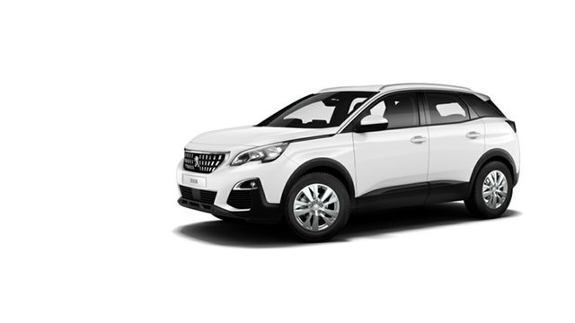 Demonstrator, Demo, Near New Peugeot 3008 Active SUV, Nambour, 2017 Peugeot 3008 Active SUV P84 MY18 Hatchback