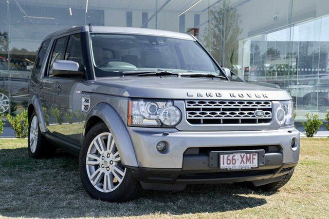 Used Land Rover Discovery 4 SDV6 CommandShift HSE, Springwood, 2011 Land Rover Discovery 4 SDV6 CommandShift HSE Wagon