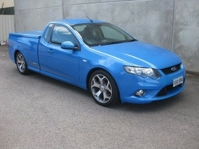 Used Ford Falcon XR6 50th Anniversary, Beverley, 2010 Ford Falcon XR6 50th Anniversary Utility