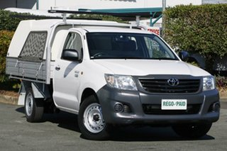 Used Toyota Hilux Workmate, Acacia Ridge, 2012 Toyota Hilux Workmate TGN16R MY12 Cab Chassis