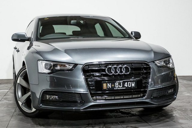 Used Audi A5 Sportback S tronic quattro, Rozelle, 2013 Audi A5 Sportback S tronic quattro Hatchback