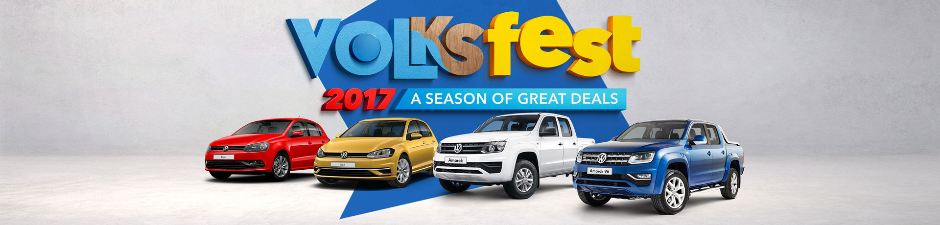 Volkswagen - National Offer - Volksfest; 2017 A Season of Great Deals