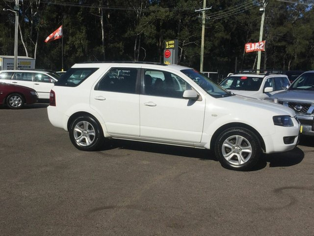 Used Ford Territory  , 2010 Ford Territory 7 Seater White 4 Speed Auto Active Select Wagon