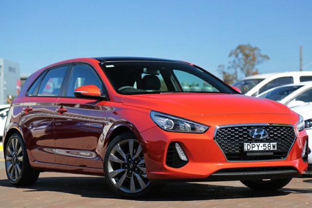 Discounted Demonstrator, Demo, Near New Hyundai i30 SR D-CT, Southport, 2017 Hyundai i30 SR D-CT Hatchback