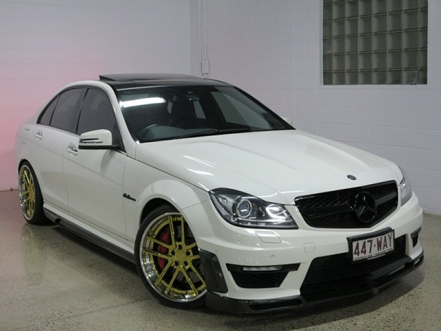 Used Mercedes-Benz C63 AMG SPEEDSHIFT MCT, Albion, 2012 Mercedes-Benz C63 AMG SPEEDSHIFT MCT Sedan