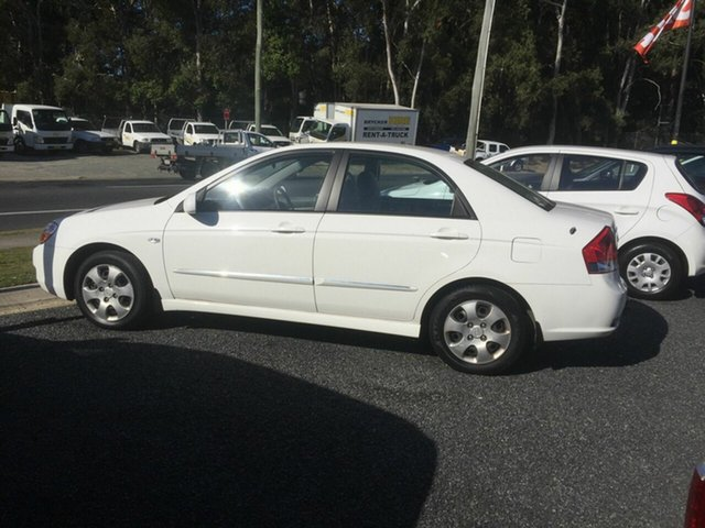 Used Kia Cerato LD , 2007 Kia Cerato LD White 4 Speed Automatic Sedan