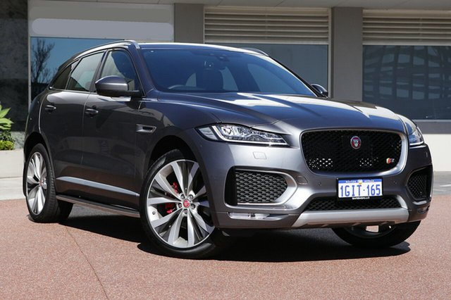 Demonstrator, Demo, Near New Jaguar F-PACE 35t AWD S, Osborne Park, 2016 Jaguar F-PACE 35t AWD S Wagon