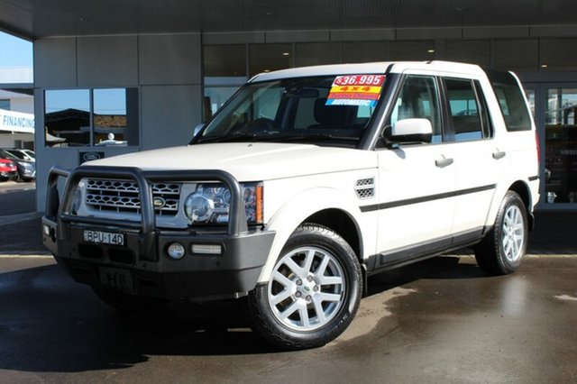 Discounted Used Land Rover Discovery 4 TdV6 CommandShift, Tamworth, 2010 Land Rover Discovery 4 TdV6 CommandShift
