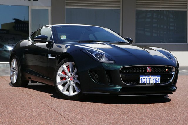 Demonstrator, Demo, Near New Jaguar F-TYPE S Quickshift RWD, Osborne Park, 2016 Jaguar F-TYPE S Quickshift RWD Coupe