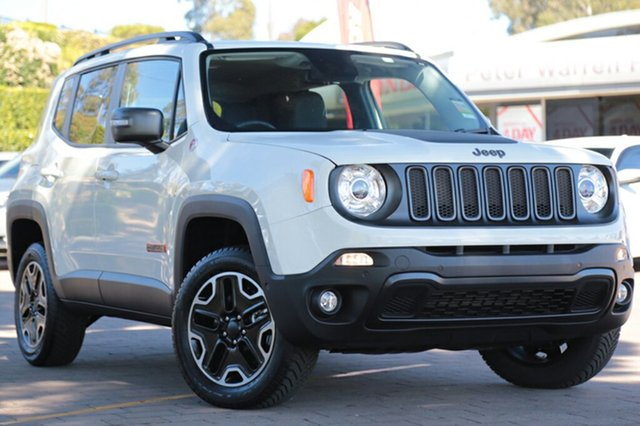 Discounted New Jeep Renegade Trailhawk AWD, Southport, 2017 Jeep Renegade Trailhawk AWD SUV