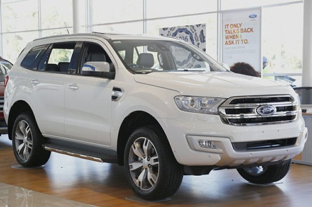 Discounted Demonstrator, Demo, Near New Ford Everest Titanium 4WD, Narellan, 2017 Ford Everest Titanium 4WD SUV