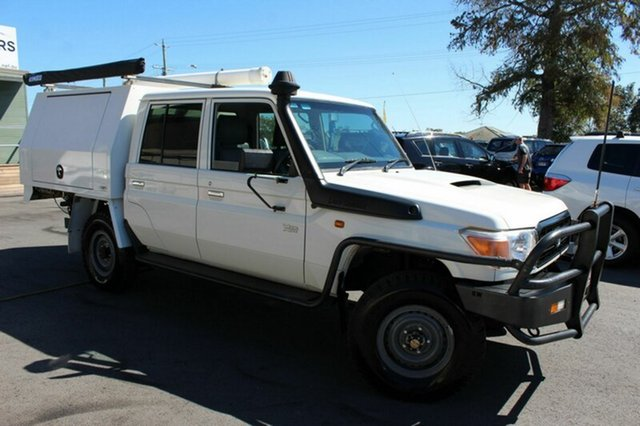 Used Toyota Landcruiser Workmate Double Cab, Tingalpa, 2013 Toyota Landcruiser Workmate Double Cab Cab Chassis