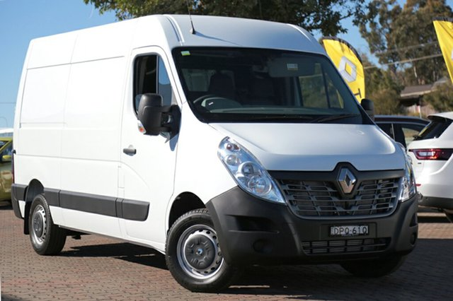 Discounted Demonstrator, Demo, Near New Renault Master Mid Roof MWB AMT, Narellan, 2017 Renault Master Mid Roof MWB AMT Van