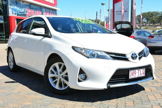 Discounted Used Toyota Corolla Ascent Sport S-CVT, Southport, 2013 Toyota Corolla Ascent Sport S-CVT Hatchback