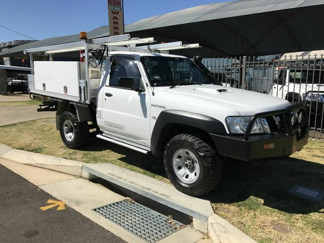 Discounted Used Nissan Patrol DX (4x4), Toowoomba, 2012 Nissan Patrol DX (4x4) Leaf Cab Chassis