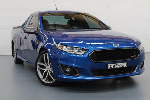 Used Ford Falcon XR6 Ute Super Cab Turbo, Cardiff, 2015 Ford Falcon XR6 Ute Super Cab Turbo Utility