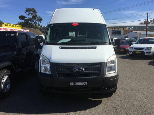 Used Ford Transit  High Roof, 2012 Ford Transit 115 T350 High Roof White 6 Speed Manual Van