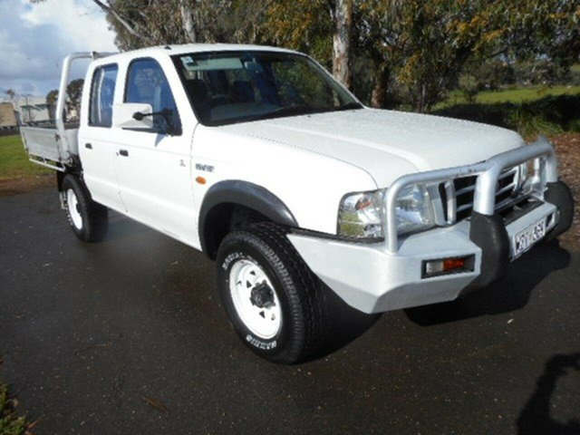 Used Ford Courier GL Crew Cab, Mile End, 2004 Ford Courier GL Crew Cab Utility