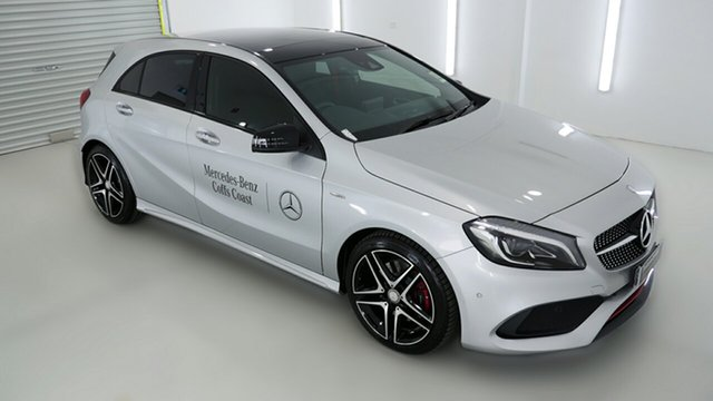Demonstrator, Demo, Near New Mercedes-Benz A250 Sport D-CT 4MATIC, Coffs Harbour, 2016 Mercedes-Benz A250 Sport D-CT 4MATIC Hatchback