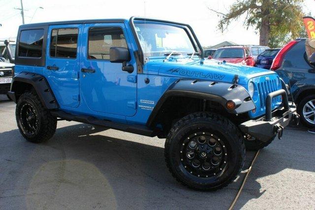 Used Jeep Wrangler Unlimited Sport, Tingalpa, 2011 Jeep Wrangler Unlimited Sport Softtop