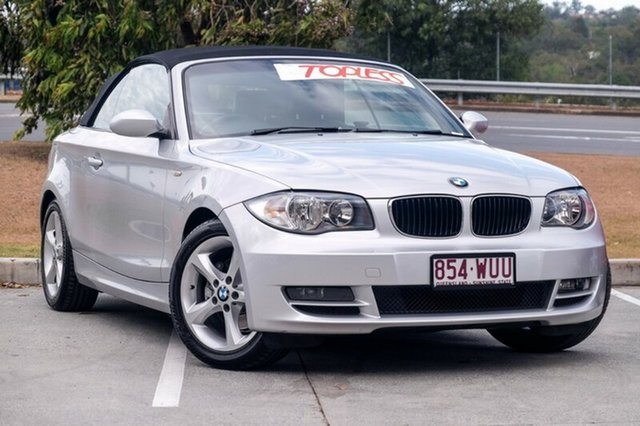 Used BMW 120i, Moorooka, Brisbane, 2008 BMW 120i Convertible