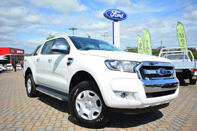 Discounted Demonstrator, Demo, Near New Ford Ranger XLT Double Cab, Southport, 2016 Ford Ranger XLT Double Cab Utility