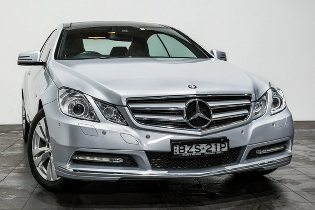 Used Mercedes-Benz E250 CDI BlueEFFICIENCY Elegance, Rozelle, 2011 Mercedes-Benz E250 CDI BlueEFFICIENCY Elegance Coupe
