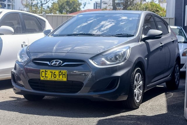 Used Hyundai Accent Active, Southport, 2011 Hyundai Accent Active Hatchback