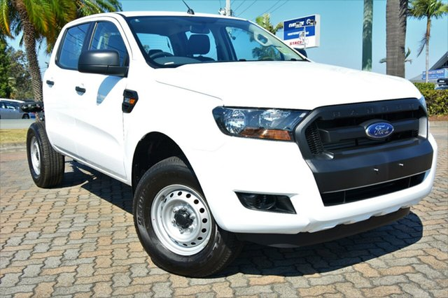 Discounted Demonstrator, Demo, Near New Ford Ranger XL Double Cab, Southport, 2017 Ford Ranger XL Double Cab Cab Chassis