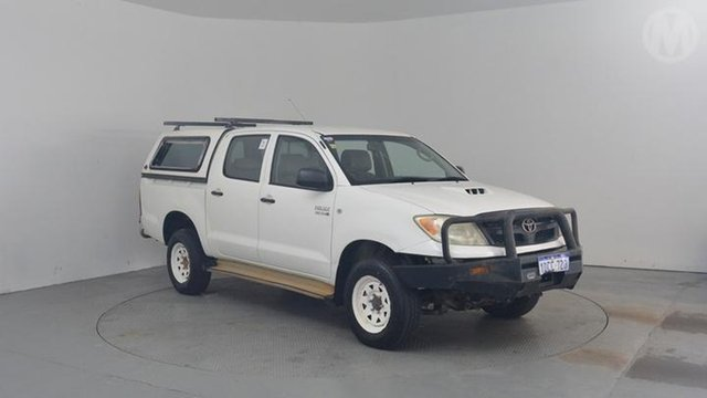 Used Toyota Hilux SR (4x4), Altona North, 2006 Toyota Hilux SR (4x4) Dual Cab Pick-up