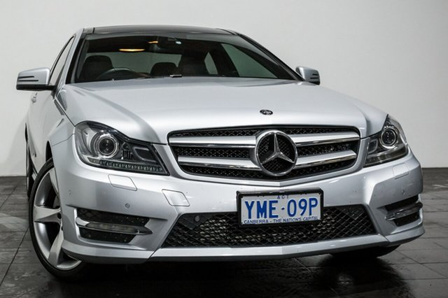 Used Mercedes-Benz C250 7G-Tronic +, Rozelle, 2013 Mercedes-Benz C250 7G-Tronic + Coupe