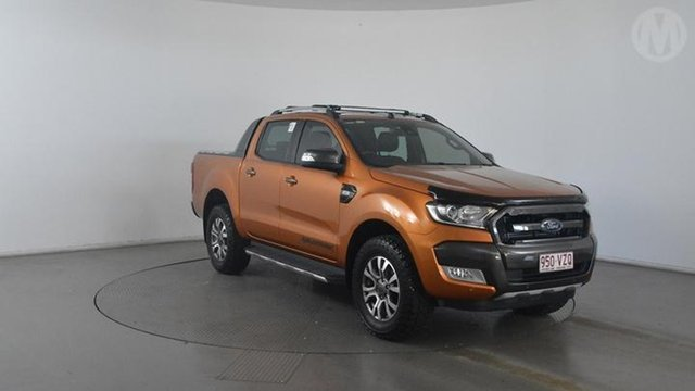Used Ford Ranger Wildtrak 3.2 (4x4), Altona North, 2015 Ford Ranger Wildtrak 3.2 (4x4) Dual Cab Pick-up