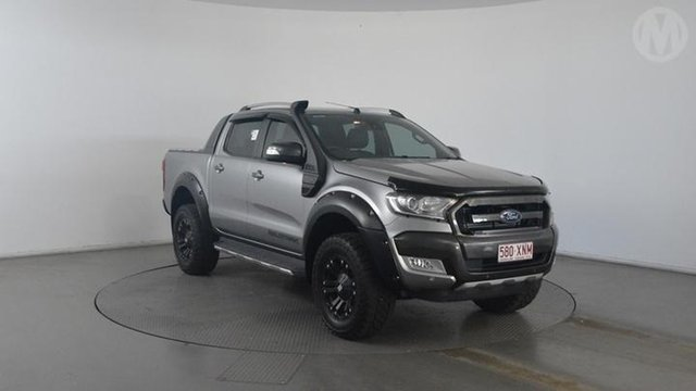 Used Ford Ranger Wildtrak 3.2 (4x4), Altona North, 2016 Ford Ranger Wildtrak 3.2 (4x4) Dual Cab Pick-up