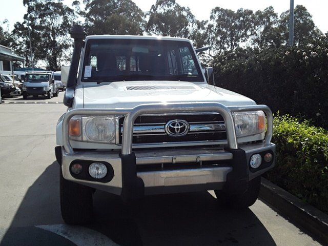 Used Toyota Landcruiser GXL, Acacia Ridge, 2014 Toyota Landcruiser GXL VDJ76R Wagon