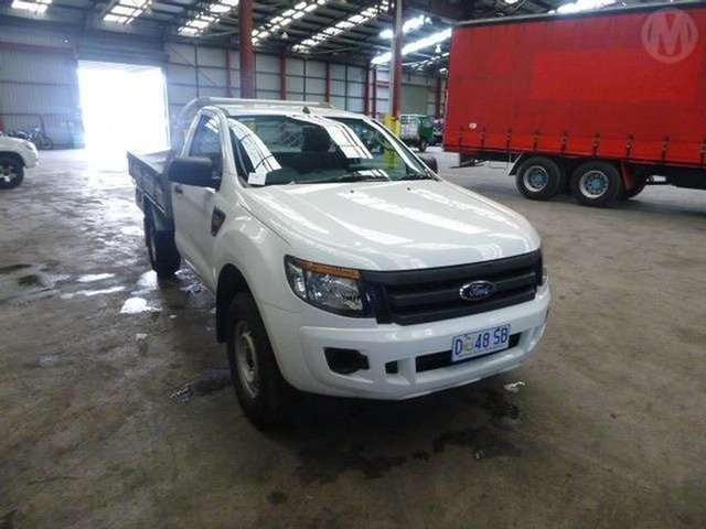 Used Ford Ranger XL 2.2 (4x4), Altona North, 2014 Ford Ranger XL 2.2 (4x4) Cab Chassis