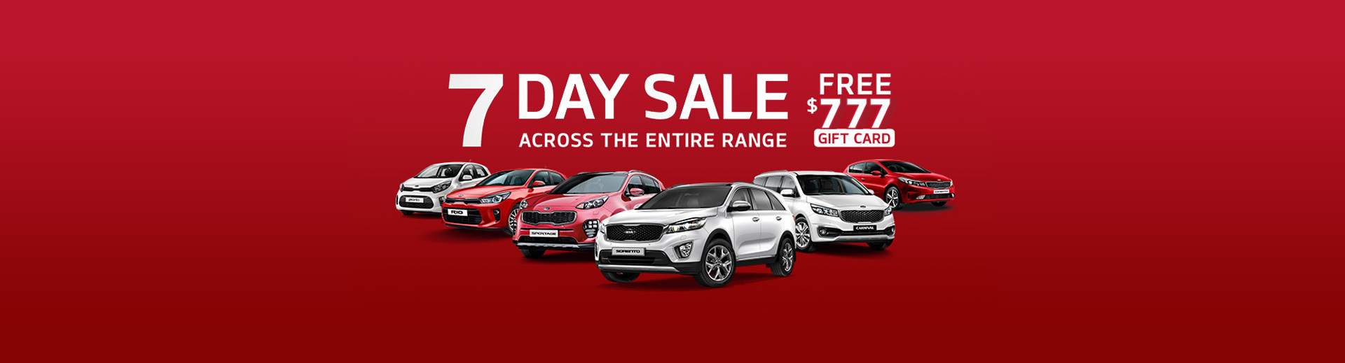 Kia - National Offer - 7 Day Sale