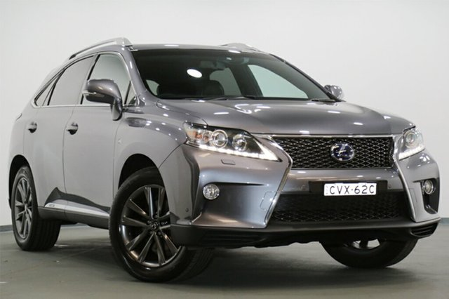 Discounted Used Lexus RX450H F Sport, Southport, 2014 Lexus RX450H F Sport SUV
