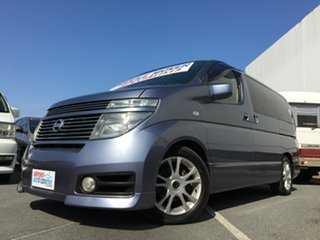 2002 Nissan Elgrand Highway Star Campervan.
