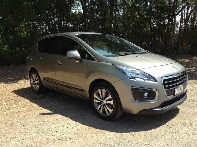 Used Peugeot 3008 Active SUV, Nambour, 2014 Peugeot 3008 Active SUV T8 MY15 Hatchback
