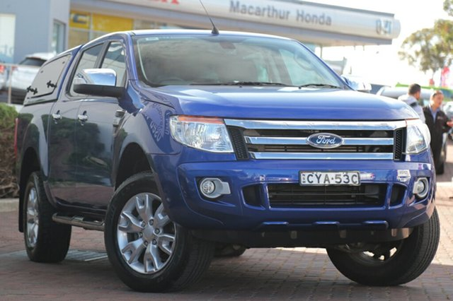 Used Ford Ranger XLT Double Cab 4x2 Hi-Rider, Narellan, 2013 Ford Ranger XLT Double Cab 4x2 Hi-Rider Utility