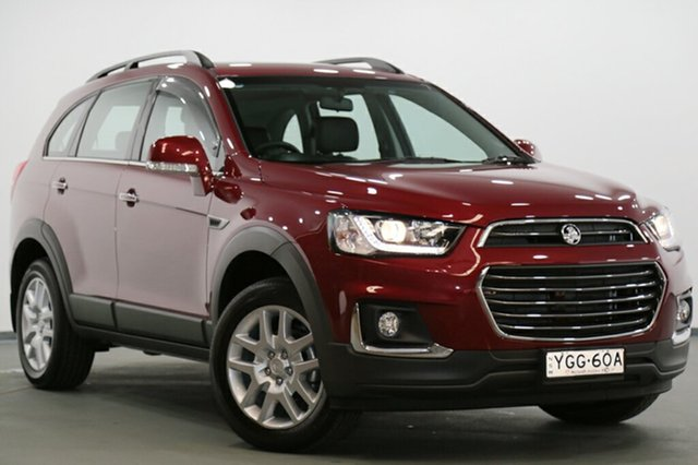 Used Holden Captiva Active 2WD, Narellan, 2017 Holden Captiva Active 2WD SUV