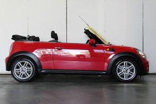 2011 Mini Cooper Cabrio Convertible.