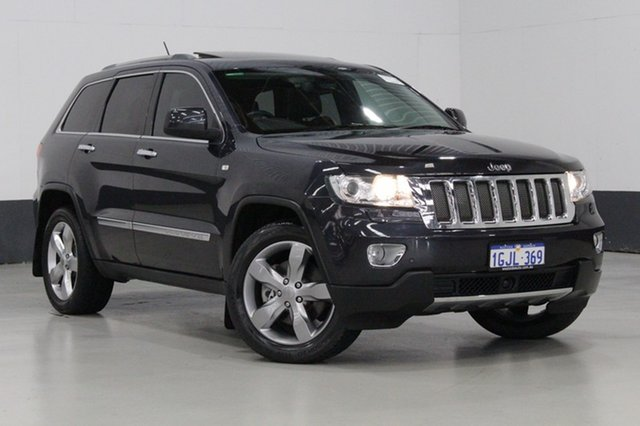 Used Jeep Grand Cherokee Overland (4x4), Bentley, 2012 Jeep Grand Cherokee Overland (4x4) Wagon