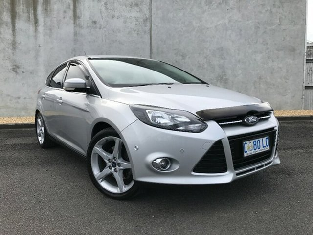 Used Ford Focus Titanium PwrShift, Hobart, 2011 Ford Focus Titanium PwrShift Hatchback